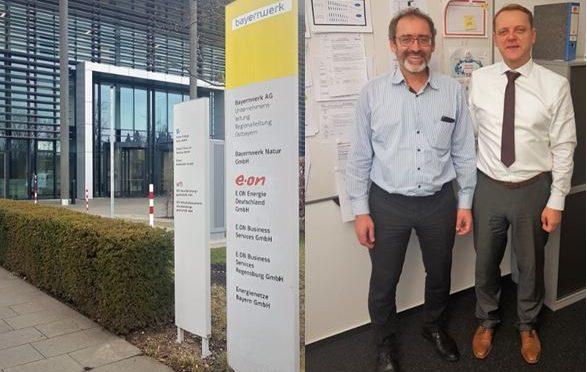 Energiemanagement: Projektmeeting bei der BAYERNWERK NETZ