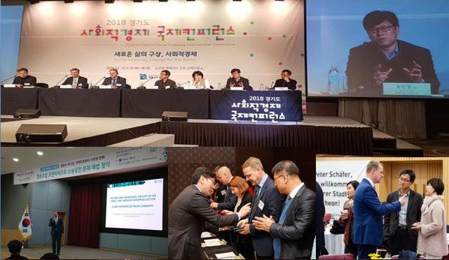INSE bei der Gyeonggi-do Social Economy International Forum in Korea