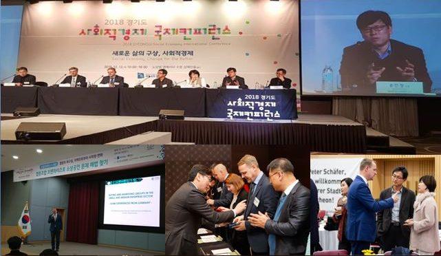 INSE bei der Gyeonggi-do Social Economy International Forum in Korea