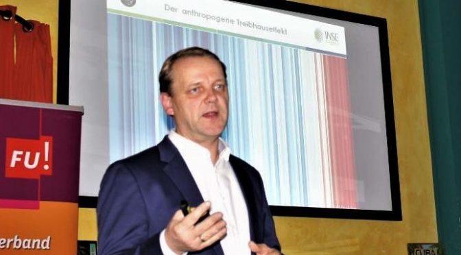 INSE bei der CDU: Vortrag zum Klimawandel