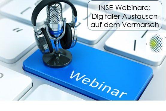 Webinare: INSE ermöglicht neues Netzwerken